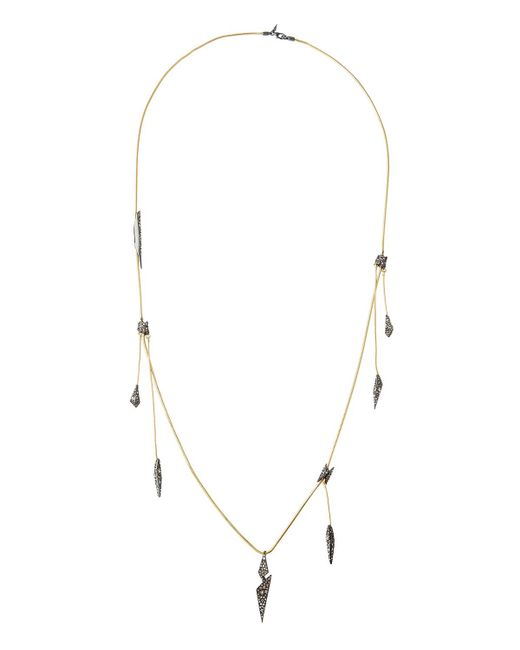 Alexis Bittar | Multicolor Long Crystal-encrusted Dangling Station Necklaces | Lyst