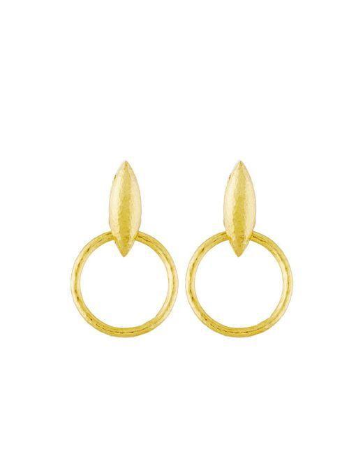 Gurhan | Metallic Willow 24k Wheat Drop Earrings | Lyst