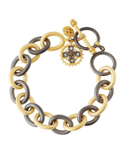 Freida Rothman   Metallic Charm Chain-link Bracelet   Lyst