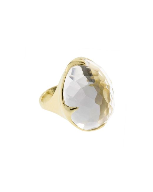 Ippolita   Metallic Rock Candy® King 18k Clear Quartz Cocktail Ring   Lyst