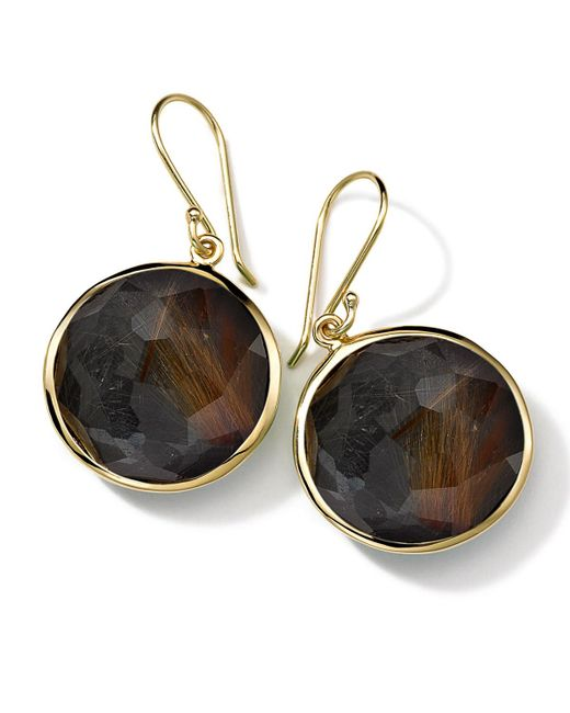 Ippolita | Black 18k Gold Rock Candy Lollipop Earrings | Lyst