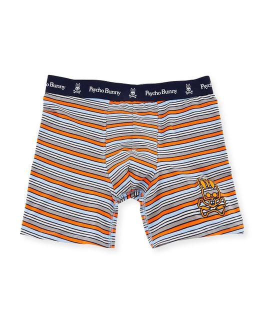 Psycho Bunny - Blue Fashion Knit Boxer Briefs for Men - Lyst
