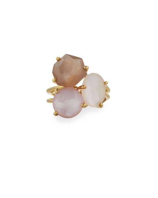 Ippolita   Multicolor Rock Candy Gelato 18k Mixed Gem Cocktail Ring   Lyst