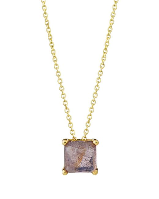 Ippolita - Purple Rock Candy 18k Square Sliding Pendant Necklace In Amethyst Doublet - Lyst