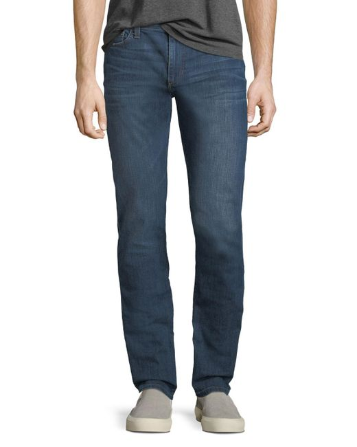 Joe's Jeans - Blue Slim-fit Straight-leg Denim Jeans for Men - Lyst