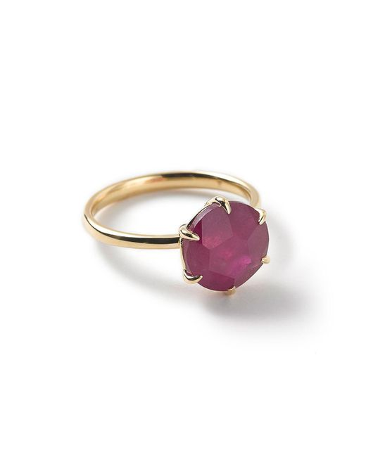 Ippolita - Red Rock Candy 18k Composite Ruby Solitaire Ring - Lyst