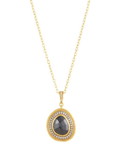 Gurhan - Metallic 24k One-of-a-kind Elements Ice Spinel & Diamond Pendant Necklace - Lyst