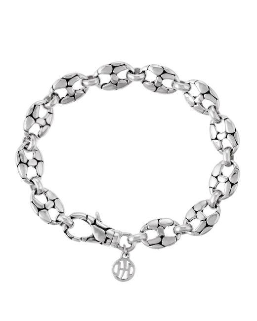 John Hardy - Metallic Small Oval-link Bracelet - Lyst