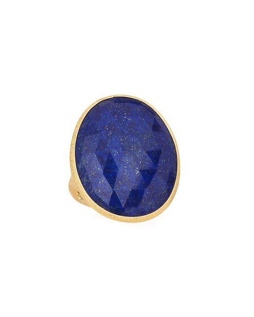 Marco Bicego - Blue 18k Large Lapis Ring - Lyst