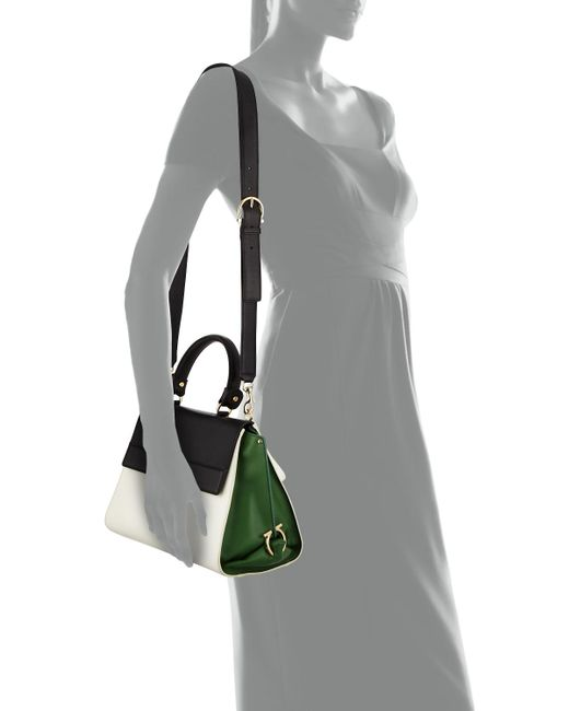 ... Ferragamo - Multicolor Sofia Top-handle Bag - Lyst f3ff1743c9cf3