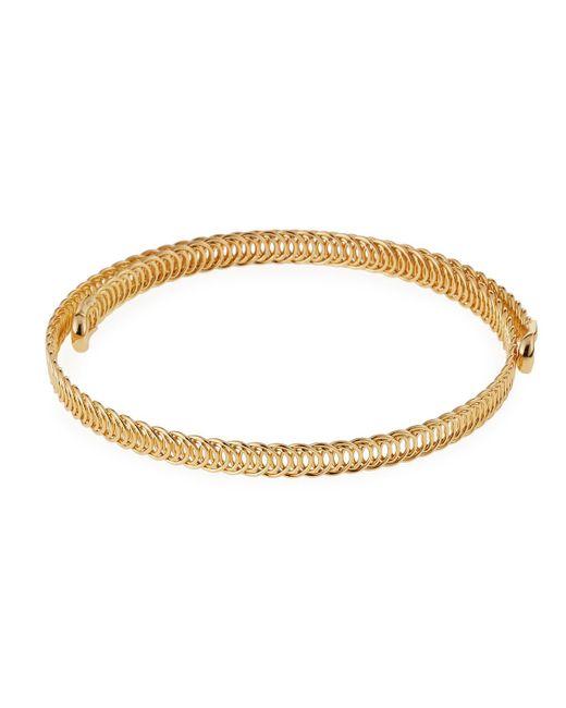 Fragments | Metallic Wraparound Choker Necklace | Lyst