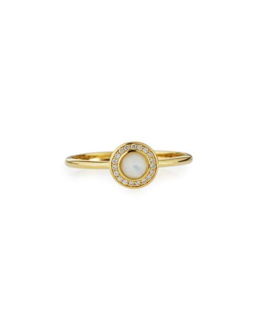 Ippolita | Metallic 18k Lollipop Mini Mother-of-pearl & Diamond Ring | Lyst