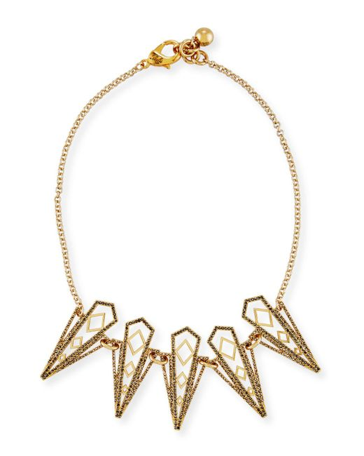 Lulu Frost - Metallic Voyage Statement Necklace - Lyst