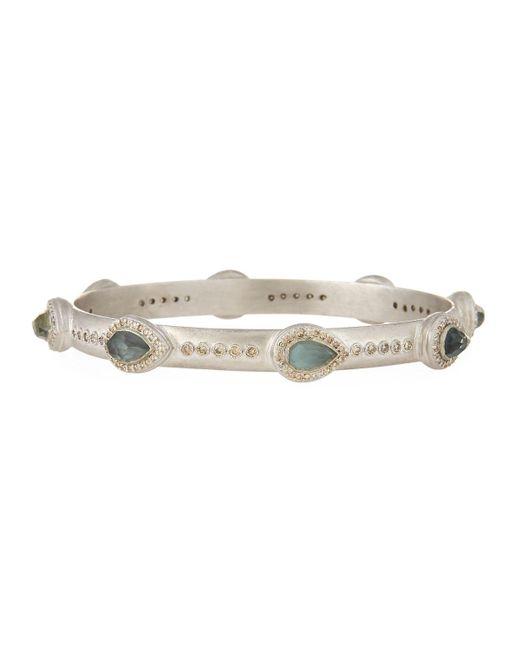 Armenta - Gray New World Thin Pear Triplet Bracelet - Lyst