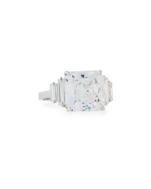 Fantasia by Deserio | Multicolor Princess-cut Cz Ring | Lyst