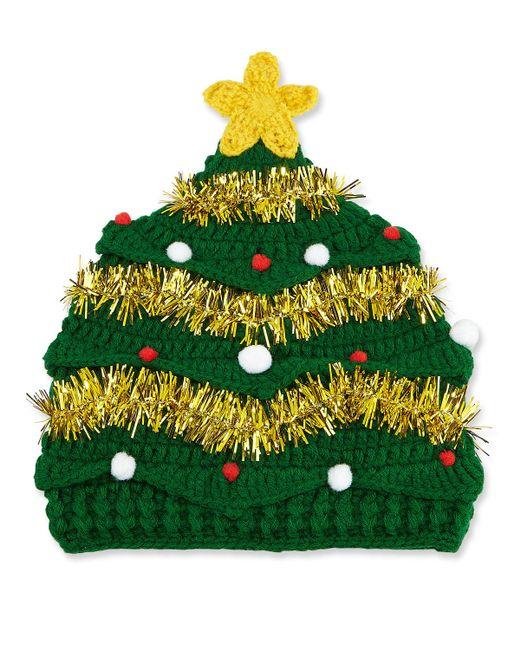 San Diego Hat Company - Green Knit Christmas Tree Beanie - Lyst