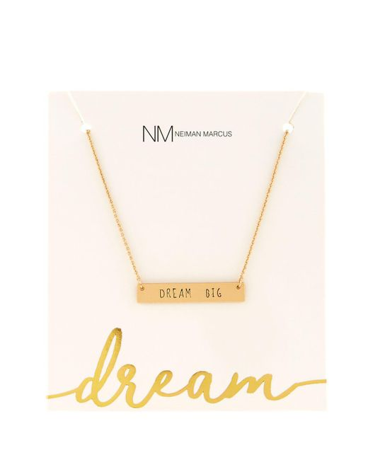 Lydell NYC | Metallic Dream Big Pendant Necklace | Lyst