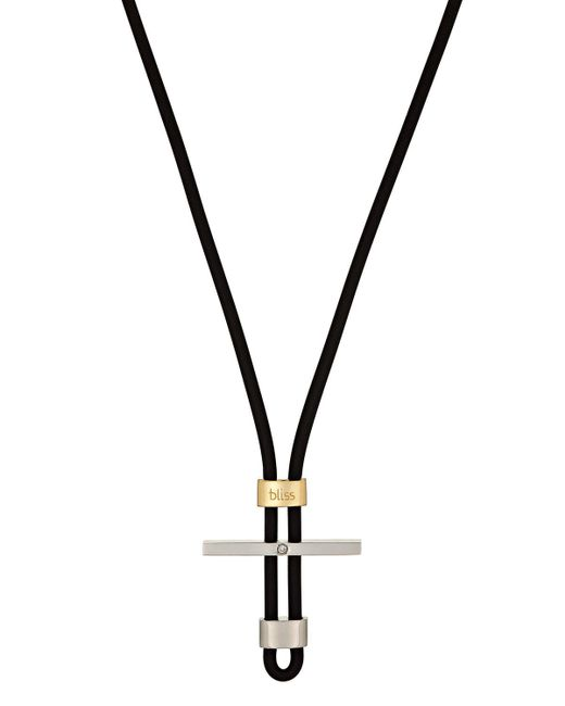 Damiani | Metallic Stainless Steel & 18k Gold Mistral Cord Necklace | Lyst