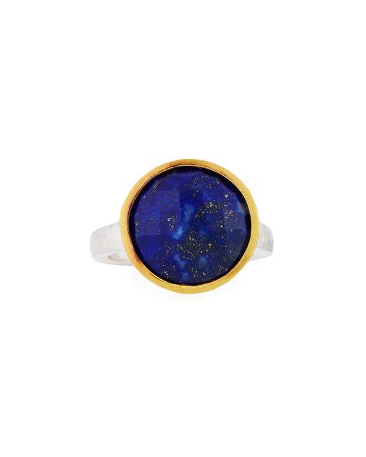 Gurhan | Blue Amulet Hue Large Round Lapis Ring | Lyst