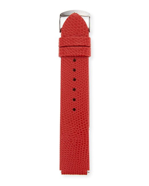 Philip Stein - Red 20mm Lizard Watch Strap - Lyst