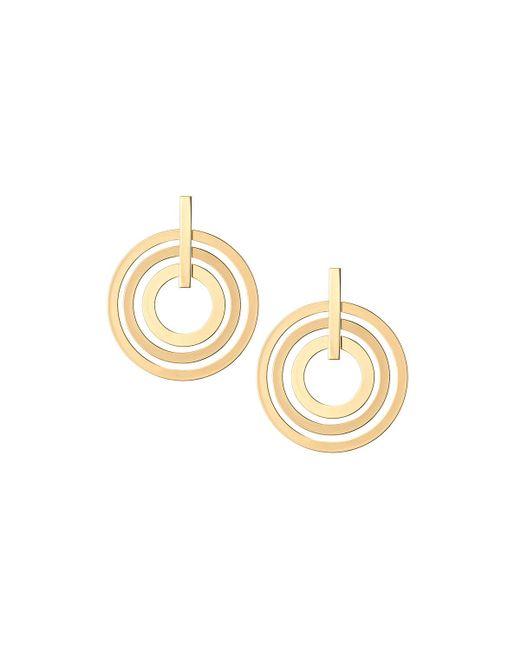 Lydell NYC - Metallic Multi-hoop Earrings - Lyst