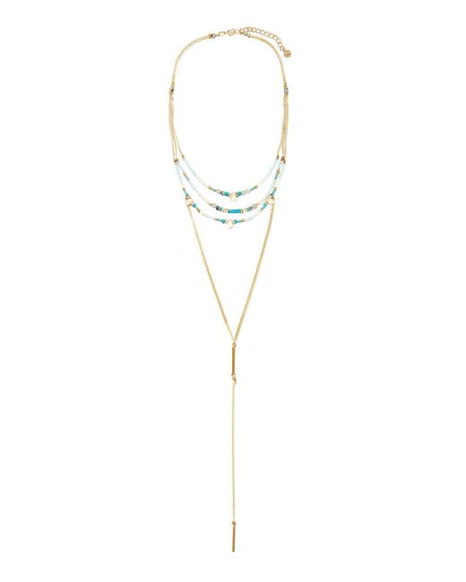 Nakamol | Multicolor Long Beaded Multi-row Y-drop Necklace | Lyst
