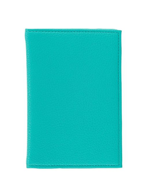 Neiman Marcus - Blue Pebble Passport Cover (unboxed) - Lyst