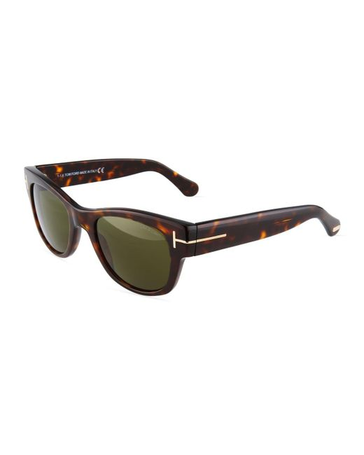 Tom Ford - Multicolor Square Acetate Sunglasses - Lyst