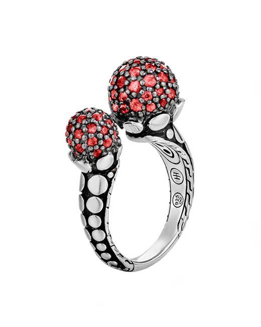 John Hardy | Dot Red Sapphire Ring | Lyst