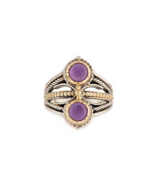 Konstantino   Purple Amethyst Doublet Ring   Lyst