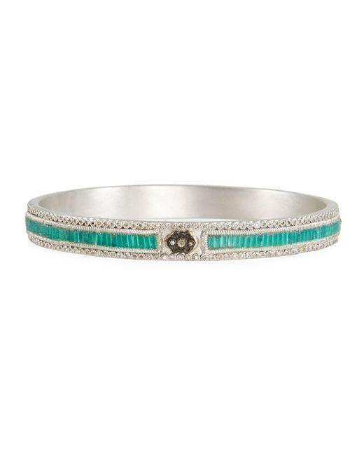 Armenta - Blue New World Midnight Scroll Mosaic Bracelet W/ Diamonds - Lyst