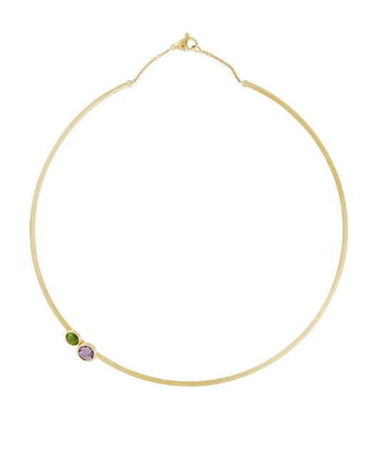 Marco Bicego - Metallic Jaipur Tourmaline & Amethyst Collar Necklace - Lyst
