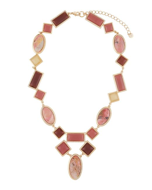 Lydell NYC | Multicolor Berry Mixed Statement Necklace | Lyst