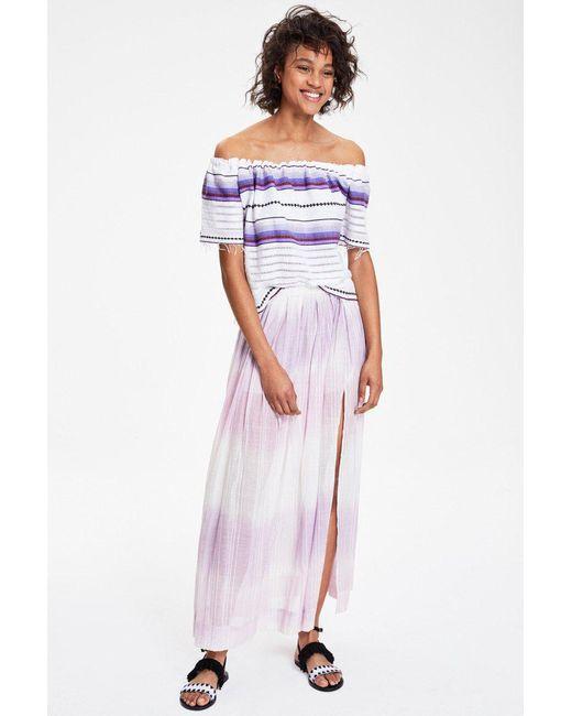 Lemlem | Multicolor Berhan Lounge Skirt | Lyst