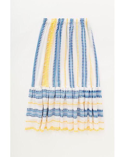 Lemlem | Blue Tabtab Convertible Skirt | Lyst