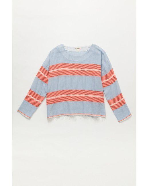 Lemlem | Multicolor Makari Smock Shirt | Lyst
