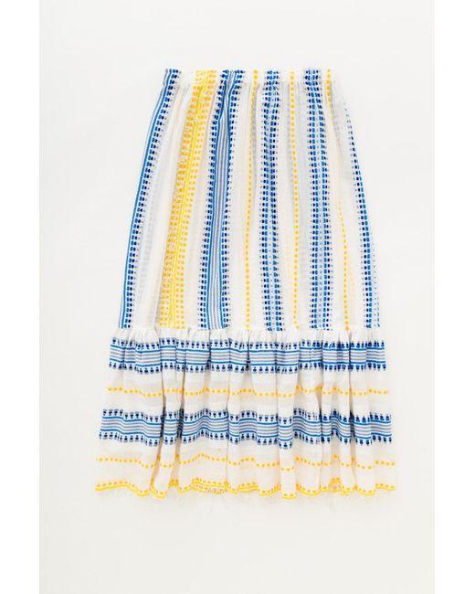 Lemlem   Blue Tabtab Convertible Skirt   Lyst