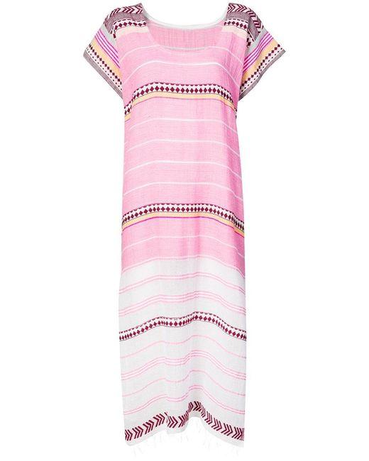 Lemlem - Pink Luchia Caftan - Lyst