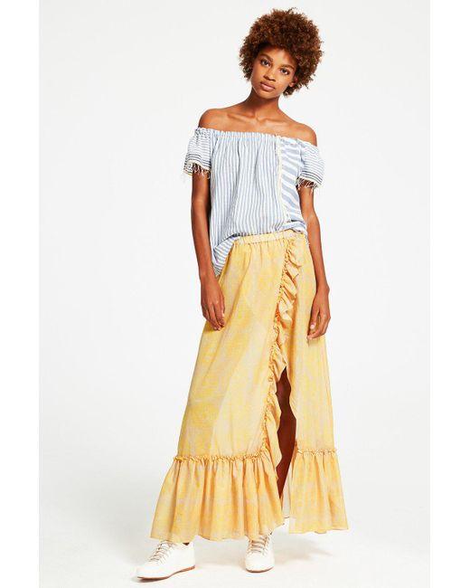 Lemlem | Yellow Makena Convertible Skirt | Lyst