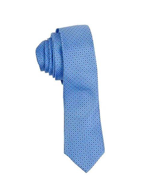 John Victor | Blue Geo Squares Neck Tie (sky) for Men | Lyst