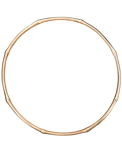 Dinny Hall | Multicolor Rose Gold-plated Bamboo Bangle | Lyst