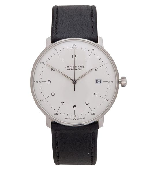 Junghans - White Calfskin Max Bill Automatic Watch for Men - Lyst