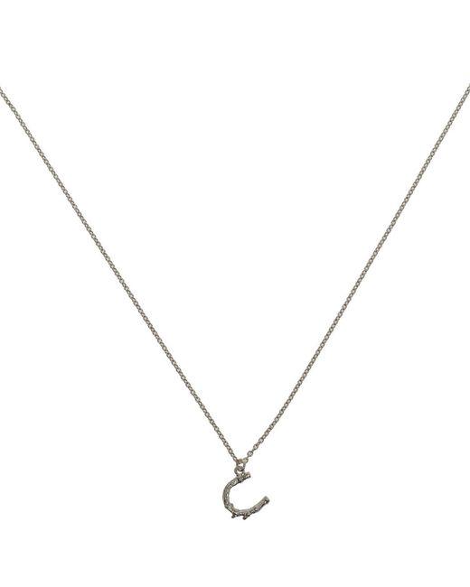 Alex Monroe | Metallic Little Horseshoe Necklace | Lyst