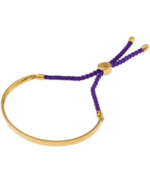 Monica Vinader   Purple Fiji Friendship Bracelet   Lyst