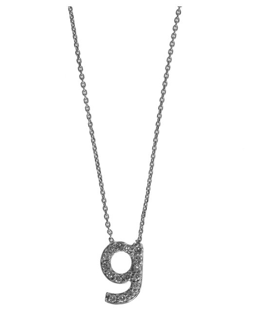 KC Designs | Metallic White Gold Diamond Letter G Necklace | Lyst