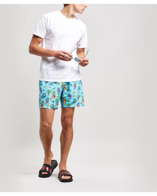 25b18f9663 ... Boardies - Blue Mulga Koala Print Swim Shorts for Men - Lyst ...