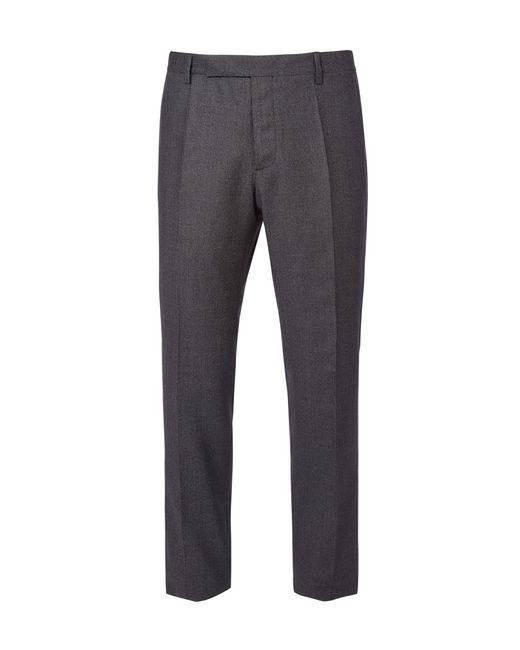 Maison Margiela | Gray Tonal Checked Trousers for Men | Lyst