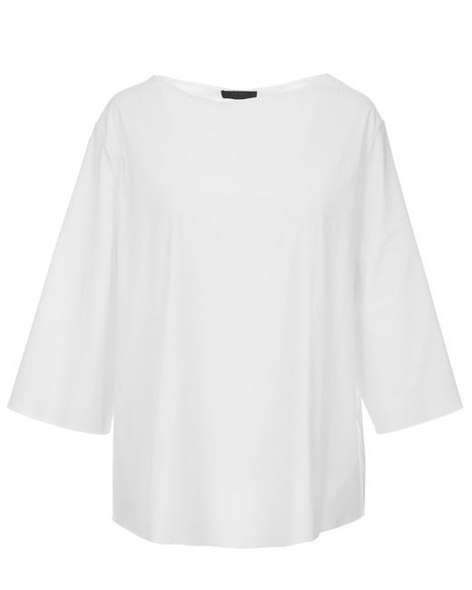 The Row | White 'melody' Tunic | Lyst