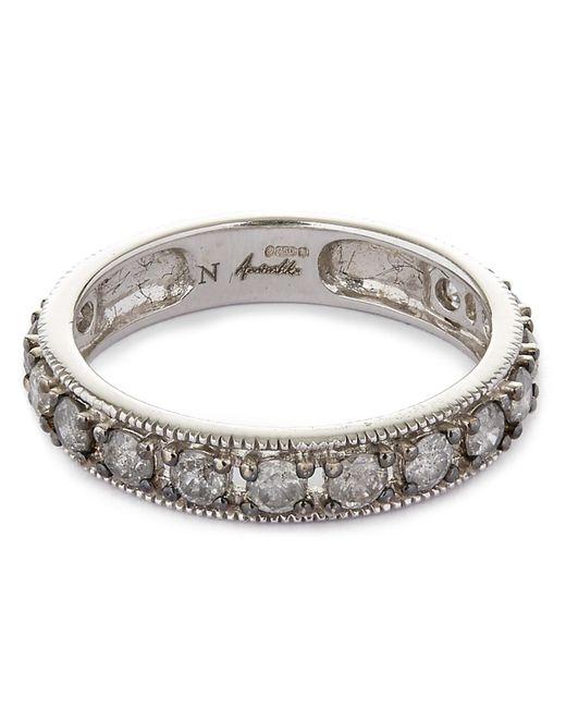 Annoushka - Metallic 18ct White Gold Dusty Diamonds Eternity Ring - Lyst