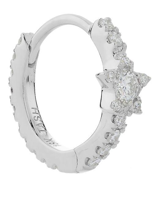 "Maria Tash   Multicolor 5/16"" Diamond Star Eternity Earring   Lyst"
